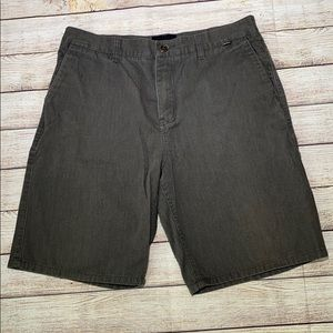 Hurleys Mens Grey Shorts Size 34